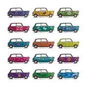 VHC7 - Colourful Cars