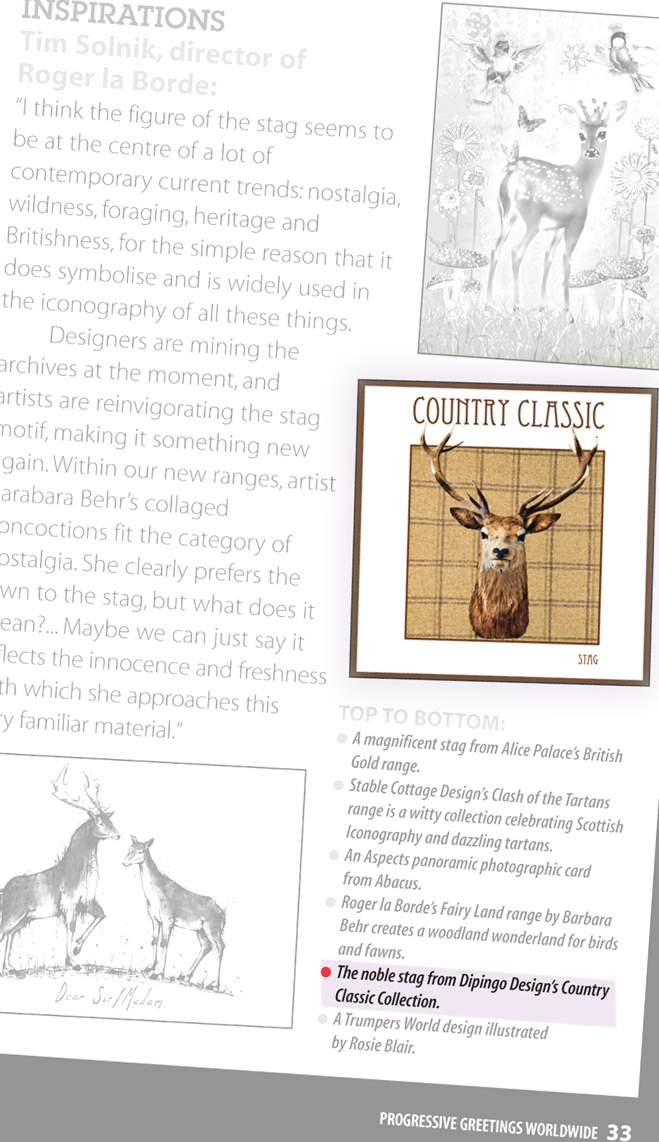 Country Classic - Progressive Greetings March 2012